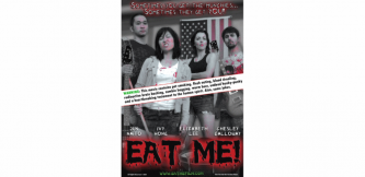 The Cover Art for Eat Me! The zombie Film